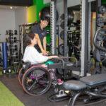 障がい者筋力トレーニング